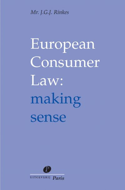 European Consumer Law: making sense