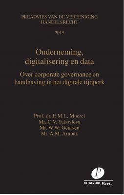 Onderneming, digitalisering en data