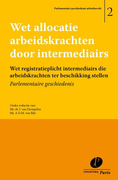 Wet allocatie arbeidskrachten door intermediairs