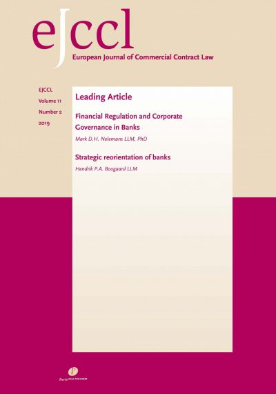 European Journal of Commercial Contract Law (EJCCL)