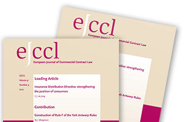 <h1>European Journal of Commercial Contract Law (EJCCL)</h1>
