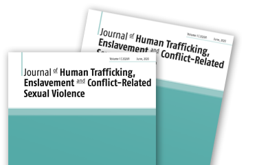 <h1>Journal of Human Trafficking, Enslavement and Conflict-Related Sexual Violence (JHEC)</h1>