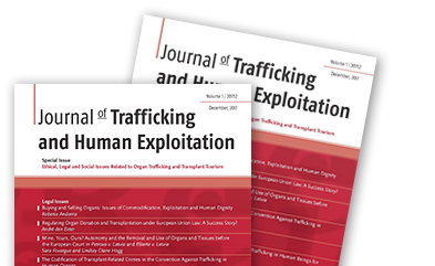 <h1>Journal of Trafficking and Human Exploitation</h1>
