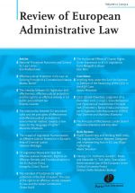 Review of European Administrative Law (REALaw)